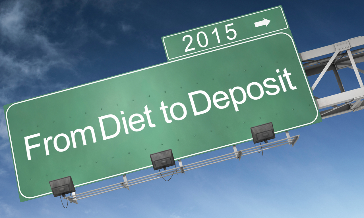 From Diet to Deposit