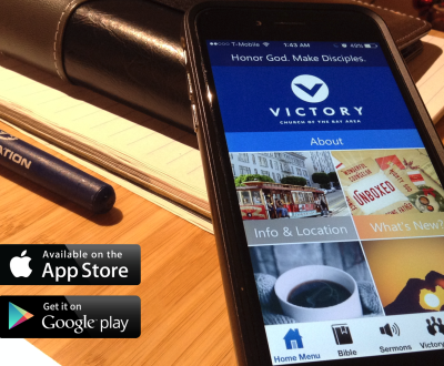 Victory Church App Splash Wide - 1